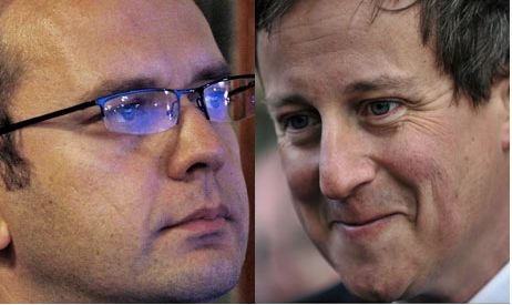 Andy Coulson and David Cameron