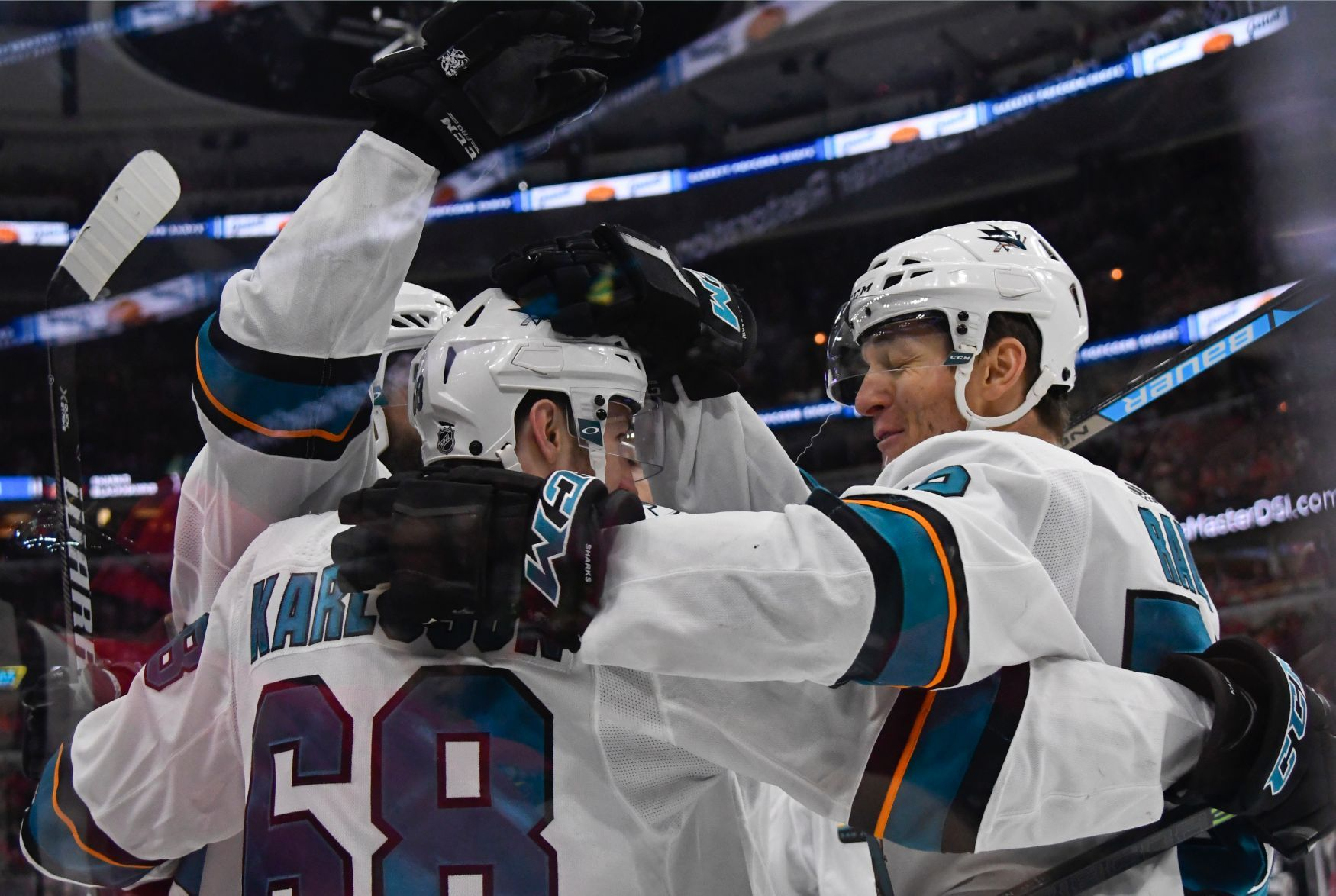 NHL 2018/19, San Jose Sharks, Lukáš Radil, Melker Karlsson a Brent Burns