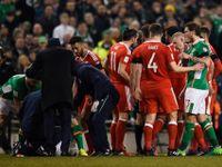 Video: Ostrovní derby bolí! Ir Coleman si v utkání s Walesem zlomil nohu