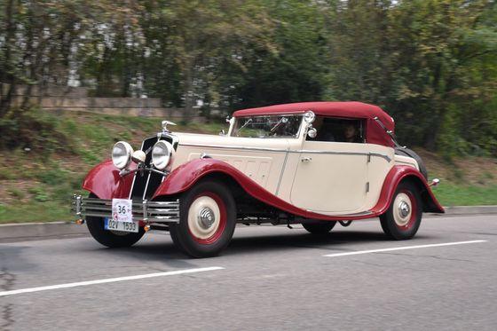 Model 40, poslední auto, které postavila továrna Wikov.