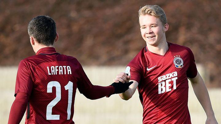Sparta v přípravě vyhrála i popáté, čínské Che-pej porazila i díky gólům Ben Chaima a Lafaty 3:0