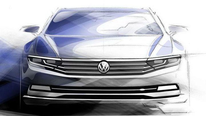 Nový VW Passat se odhaluje. Techniku zdědí i superb