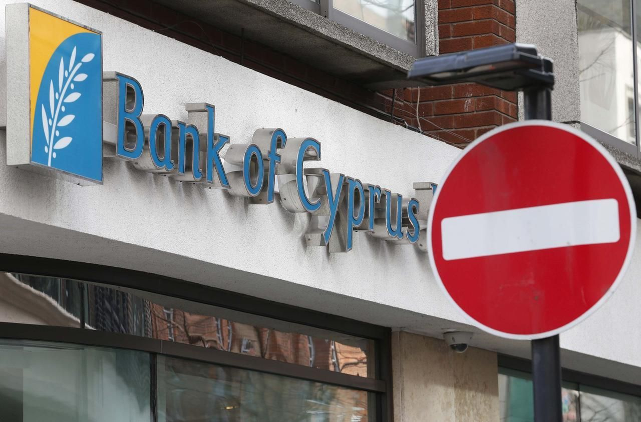 Kypr - krize - banka - Bank of Cyprus