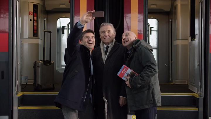 Nová rakouská reklama: Bože, vlakem do Prahy už jezdí i Gott