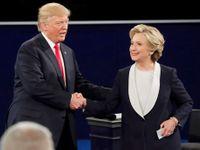 """""""Slizoune, dej si zpátečku."""" Trump za mnou při debatě slídil, píše Clintonová v nové knize o volbách"""