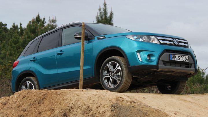 Suzuki plánuje většinu nových Vitar prodat s pohonem 4x4