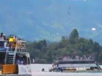 V Kolumbii se potopila loď se 150 turisty. Plavidlo bylo přetížené, lidé neměli záchranné vesty