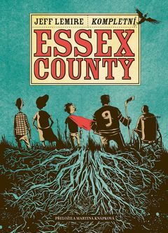 Obálka komiksu Essex County.