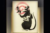 Banksy: Radar Rat, 2004