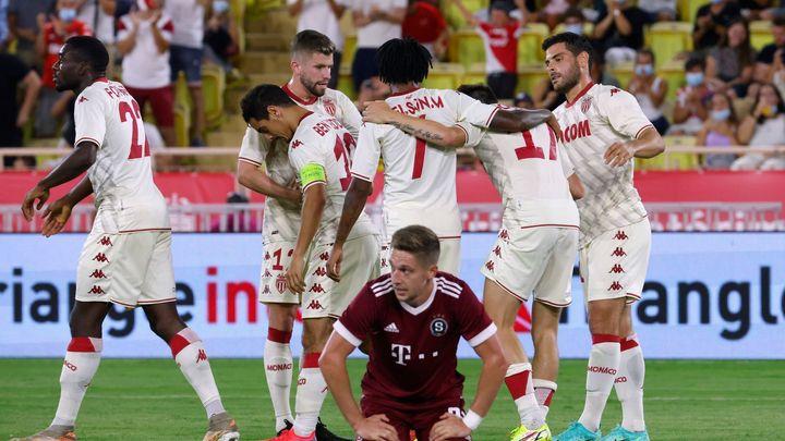 Zázrak se nekonal. Sparta prohrála i v Monaku a přejde do skupiny Evropské ligy; Zdroj foto: Reuters