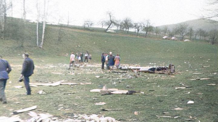 Před 49 lety roztrhal teroristický útok nad Československem letoun s 28 lidmi
