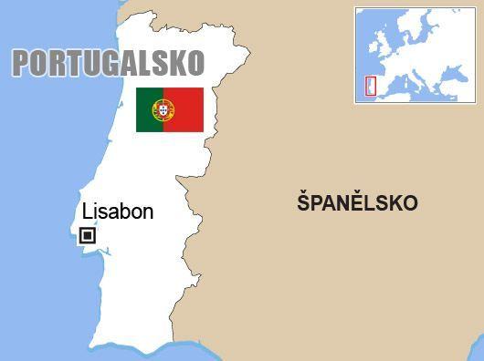 Výsledek obrázku pro portugalsko mapa