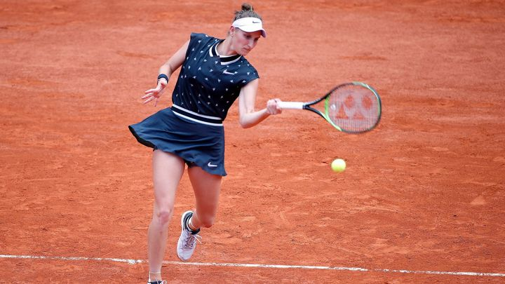 French Open: Vondroušová ztratila set, ale pak už povolila Kanepiové jen tři hry; Zdroj foto: Reuters