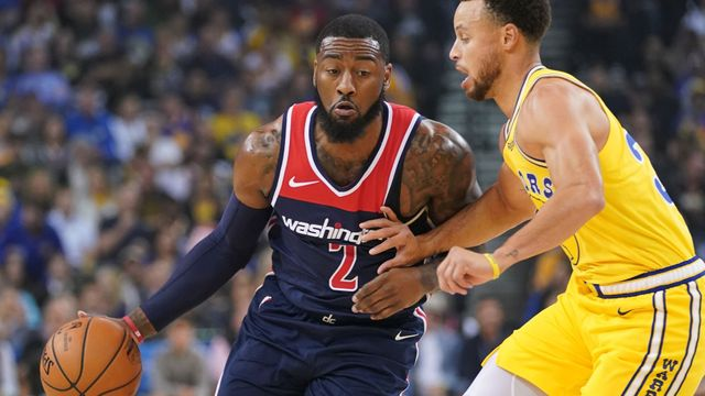 John Wall a Stephen Curry.