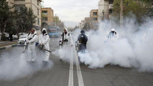 Koronavirus v Íránu