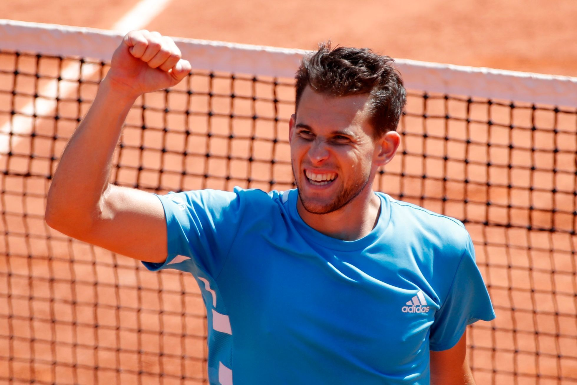 Dominic Thiem v semifinále French Open 2019
