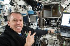 Andrew Feustel na ISS