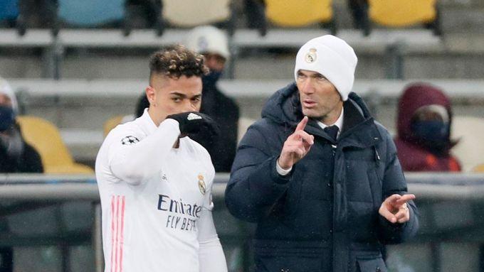 Neodstoupím, to si zapamatujte. Zidane přes krizi Realu o rezignací neuvažuje