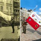 Legionáři z Česka se vrátili do Kyjeva. Majdan byl ve střehu