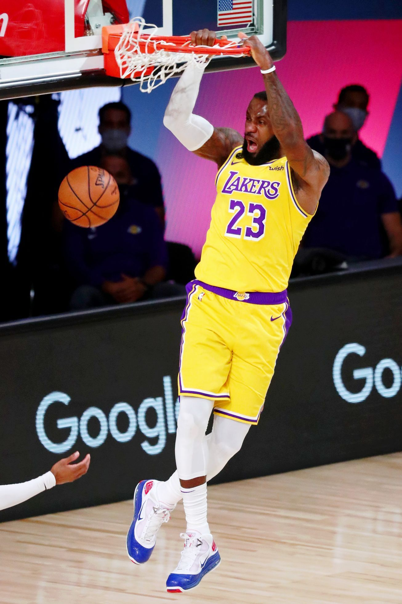 1. semifinále play off NBA 2020, Lakers - Denver: LeBron James