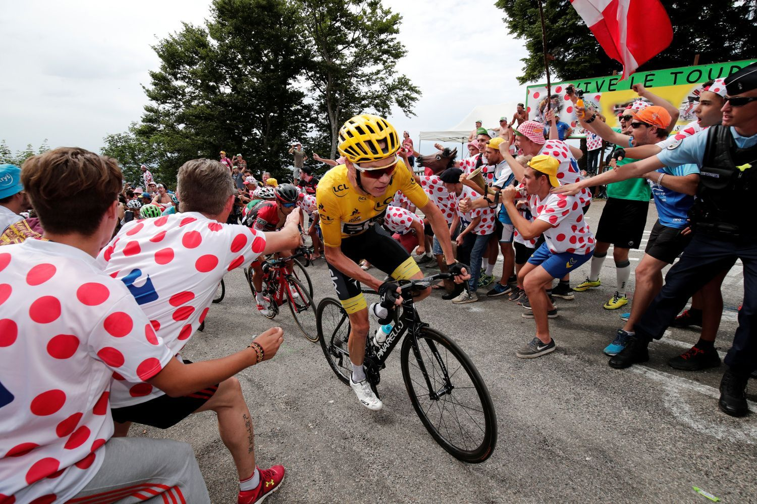 Tour de France 2017, 9. etapa: Chris Froome