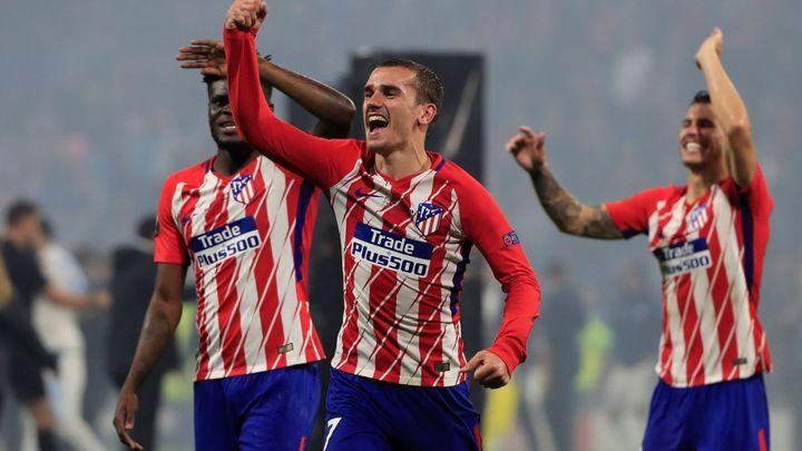 Atlético porazilo Marseille 3:0 a vyhrálo Evropskou ligu. Udělalo radost i českému vicemistrovi