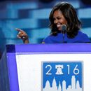 U.S. first lady Michelle Obama speaks at the Democratic National Convention in Philadelphia