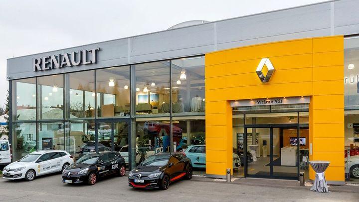 Renault mění podobu svých autosalonů. První je v Průhonicích