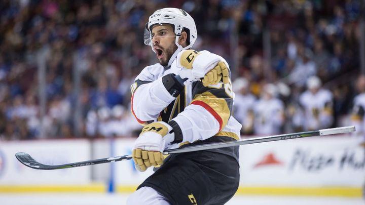 Dvakrát ze tří zápasů byl zvolenou třetí hvězdou, přesto míří Hyka z Vegas zpět do AHL