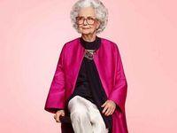 Stoletá modelka v prestižním vydání Vogue. Z domu nevyjde bez podpatků