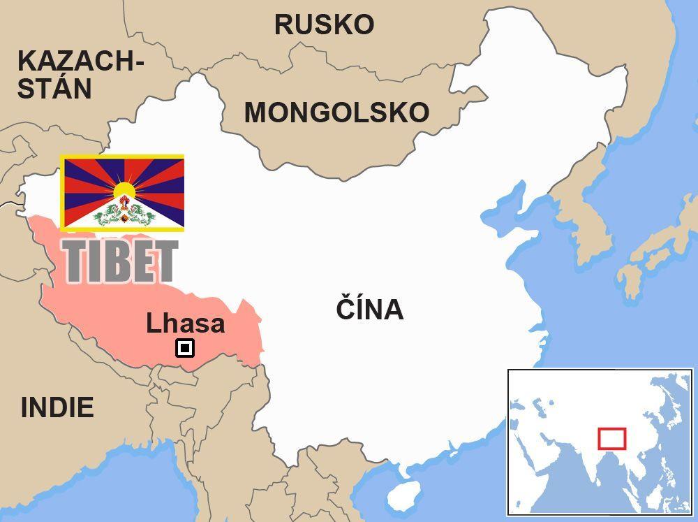Tibet Mapa Aktualne Cz