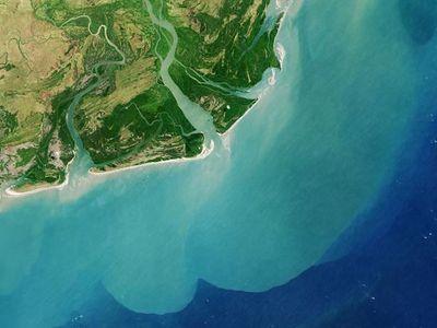 Obrazem: Úchvatné přírodní scenérie. Nejkrásnější snímky Afriky pořízené z vesmíru