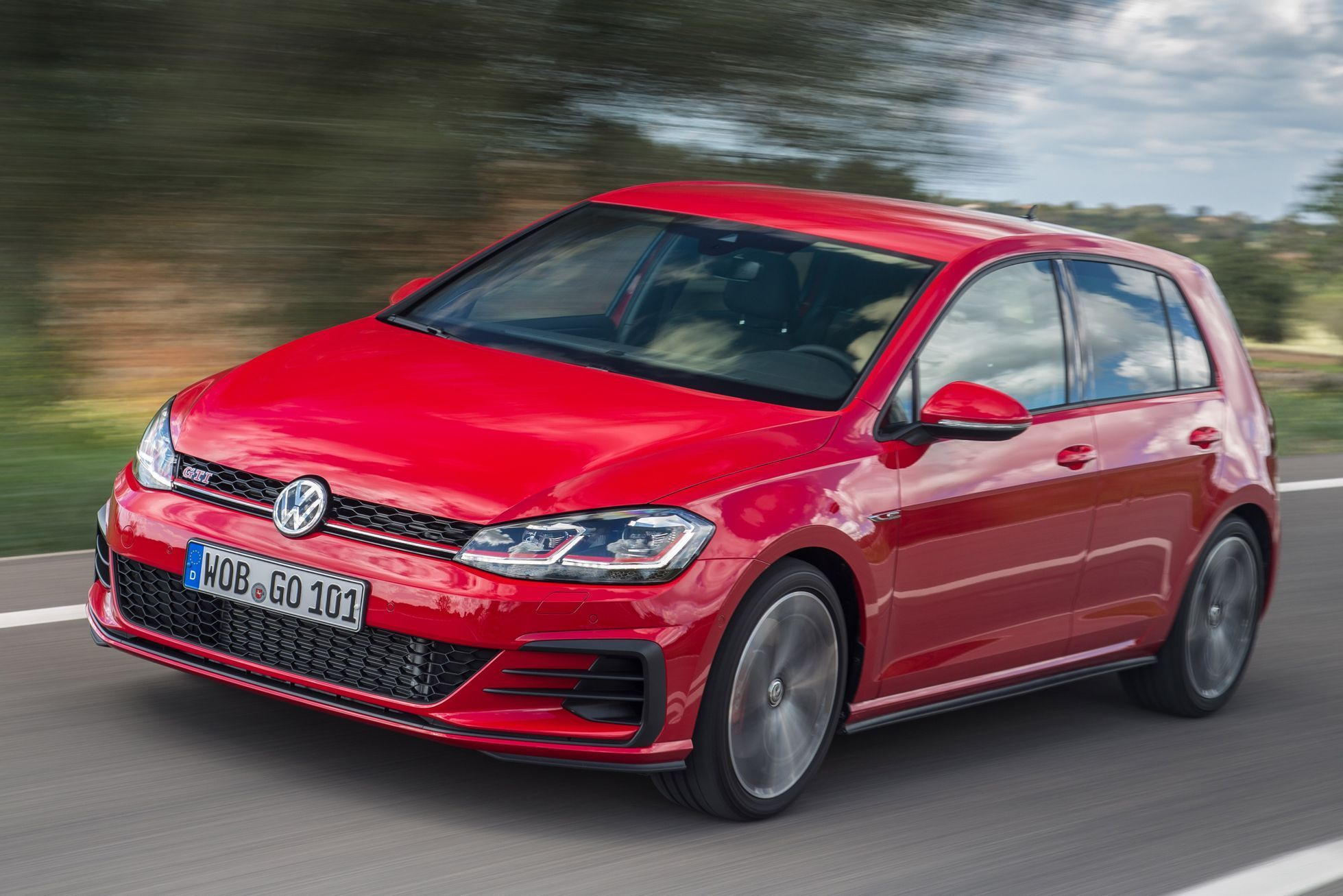 Volkswagen Golf GTI Performance 2017 - předobok