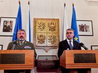 Byl to útok z vlastních řad, od spojenců, řekl o smrti českého vojáka ministr Metnar