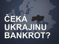 Grafika: Ukrajině docházejí peníze. Klesá na úroveň Kamerunu