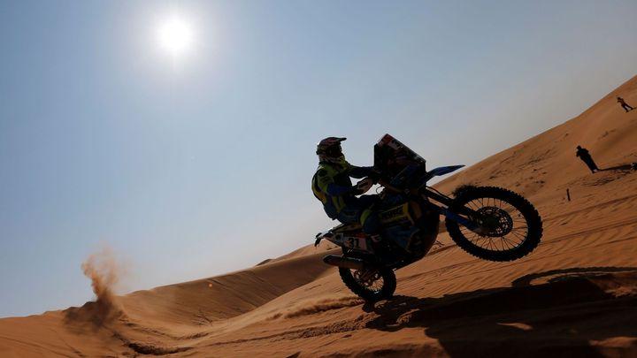 Životní jízda pokračuje. Michek se na Dakaru posunul na desáté místo