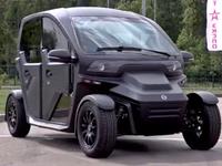 Jede taxi, je to Kalašnikov. Ruský výrobce zbraní nabízí nový elektrovůz UV-4