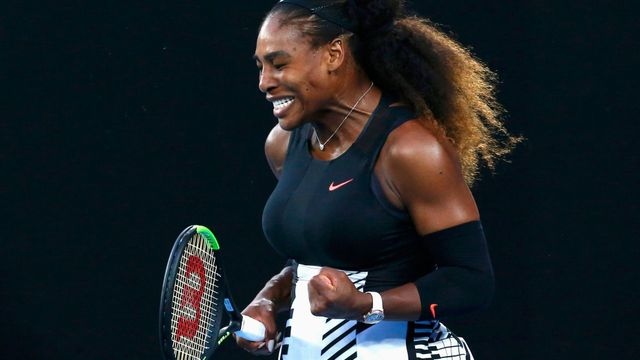 Serena Williamsová na Australian Open 2017