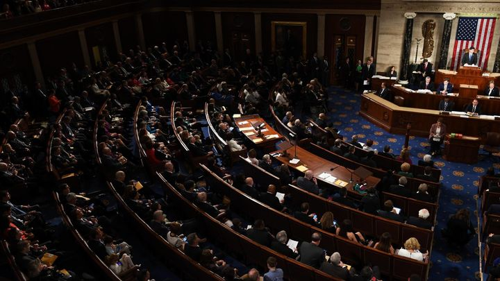 Americký Kongres schválil financování vlády do 8. února. Dostali jste rozum, řekl Trump demokratům