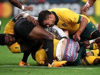 Fidži bylo blízko senzace. Austrálie nakonec úvodní zápas MS ragbistů otočila
