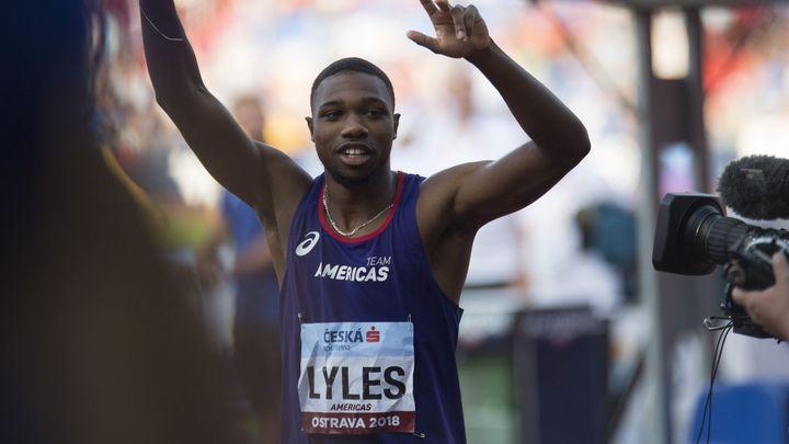 Lyles se radoval, že předběhl Bolta. Předčasně, startoval ze špatné čáry