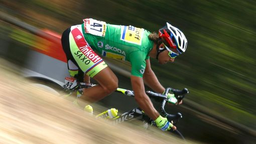 Peter Sagan ve 14. etapě Tour de France 2015