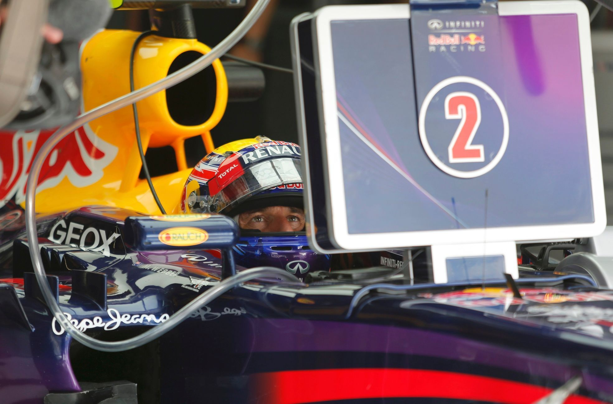 F1, VC Bahrajnu: Mark Webber, Red Bull