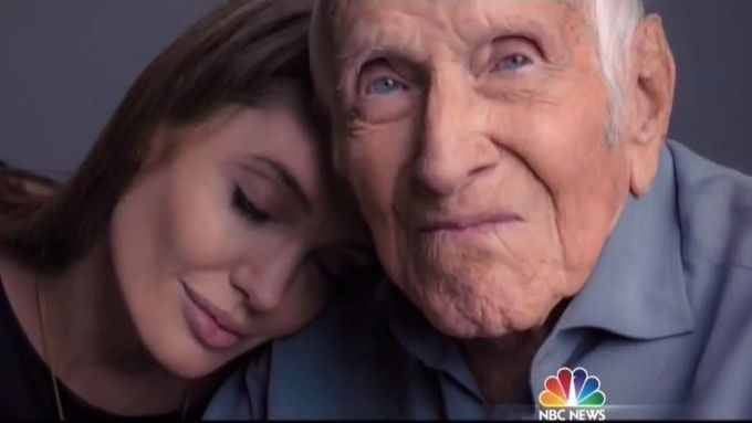 Angelina Jolie a Louis Zamperini