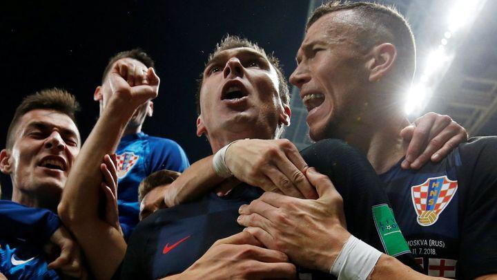 """Fotbal """"domů"""" nepřijde. Angličané nezvládli prodloužení a prohráli s Chorvaty"""