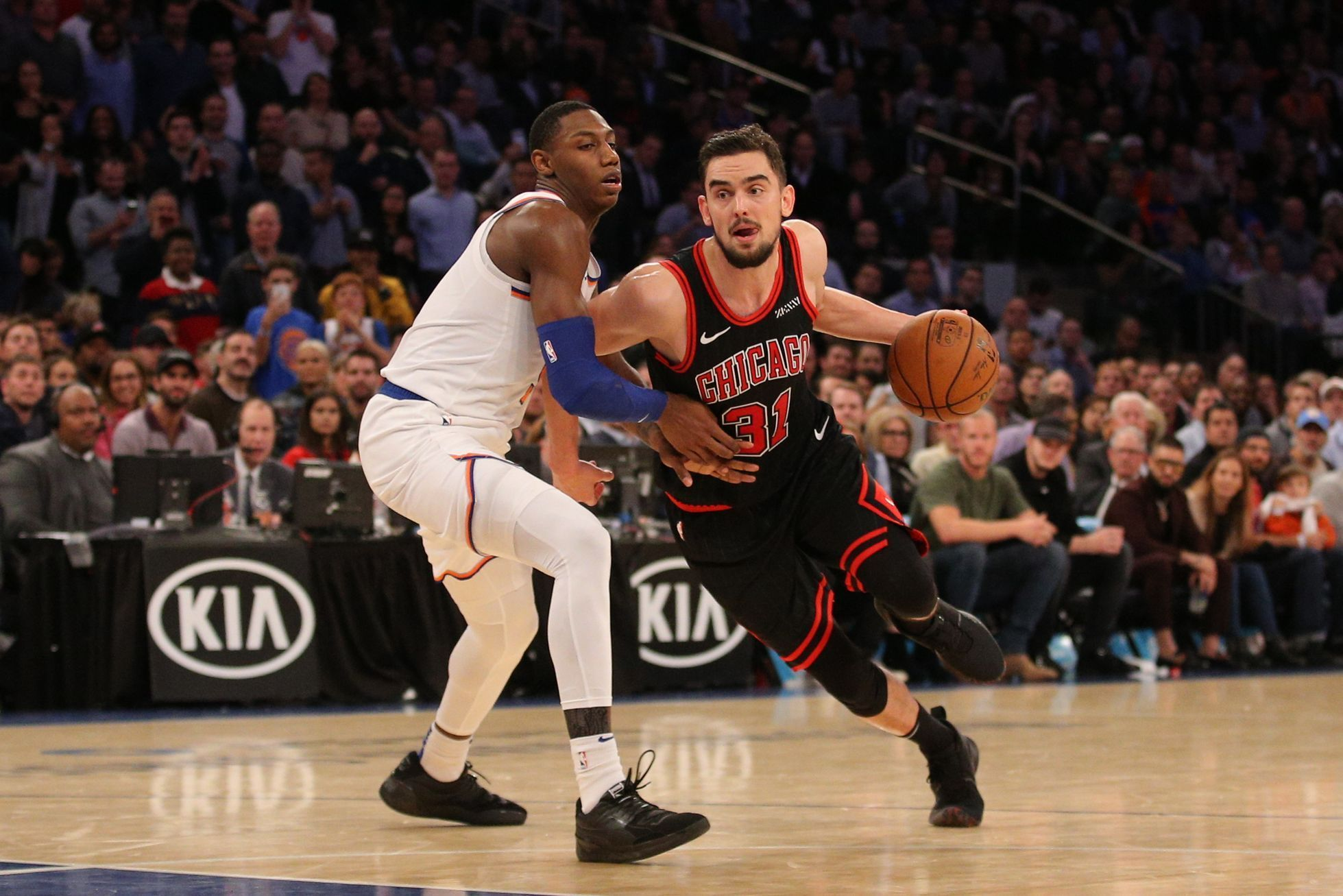 NBA: Chicago Bulls at New York Knicks, Tomáš Satoranský