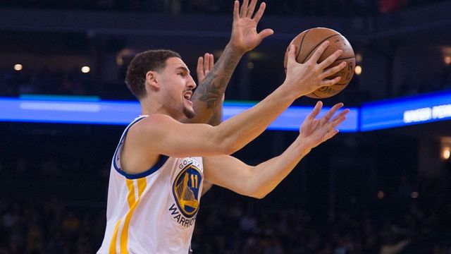 Klay Thompson z Golden State Warriors