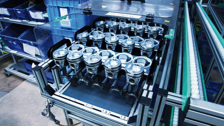 Volkswagen má v Kasselu továrnu na lego pro dospělé. Staré náhradní díly tu dostávají novou podobu
