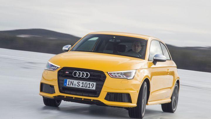 Nejmenší sportovní Audi si poradí i na ledu. První test S1