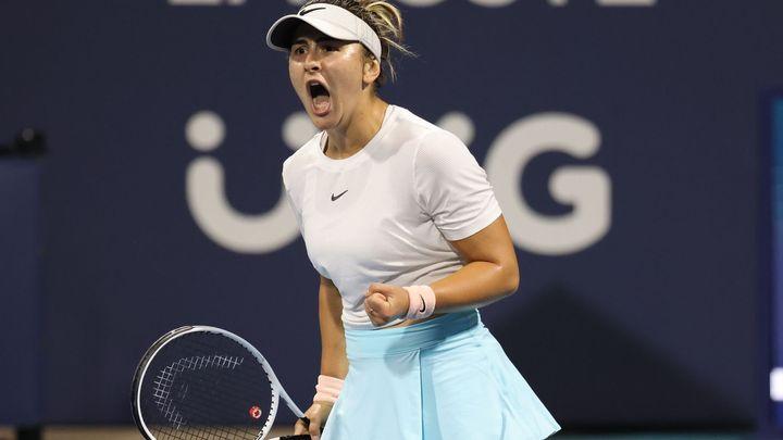 Obhájkyni Bartyovou vyzve v Miami Andreescuová, Korda vypadl ve čtvrtfinále